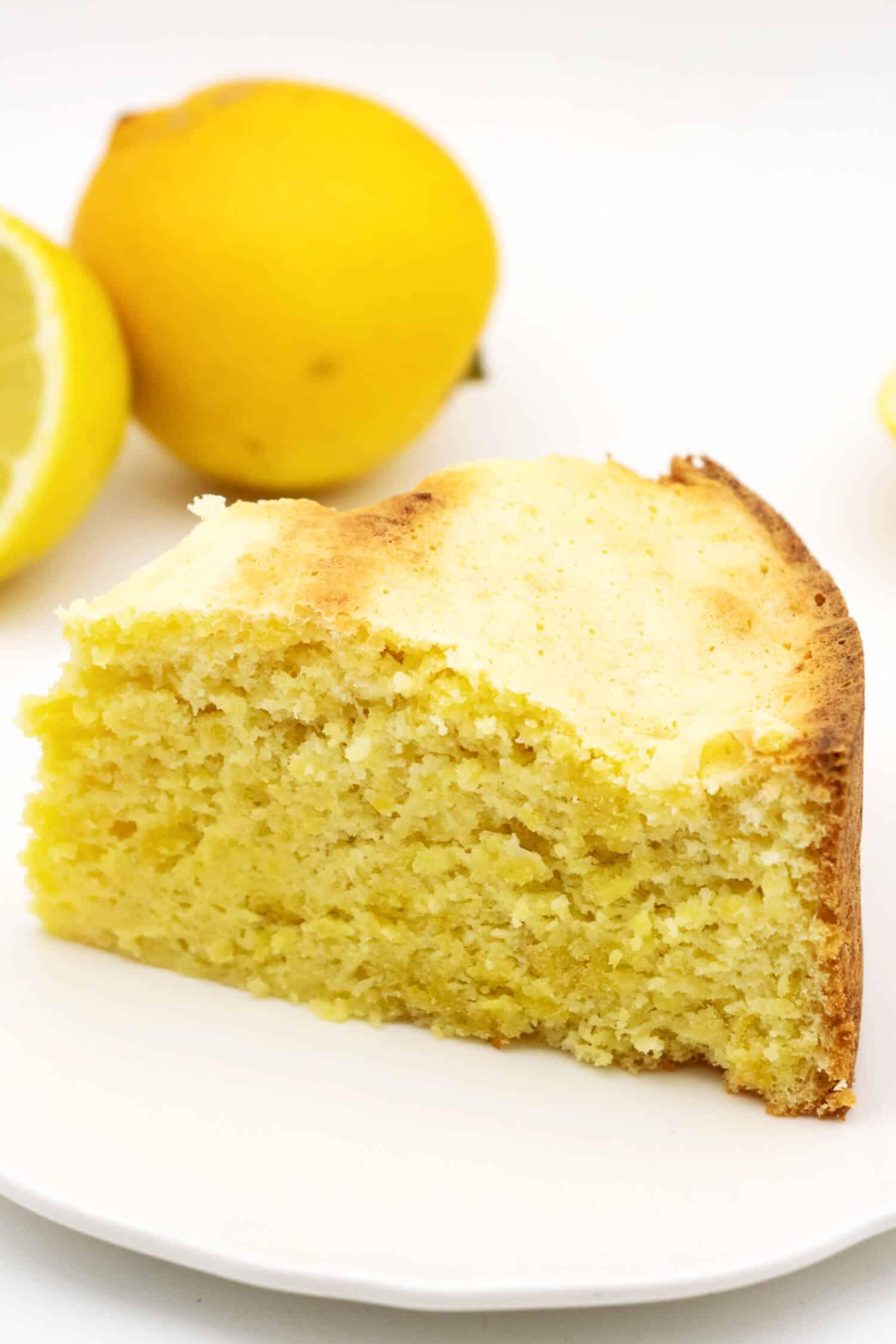 Wolke Kuchen Zitrone ohne Zucker selber machen