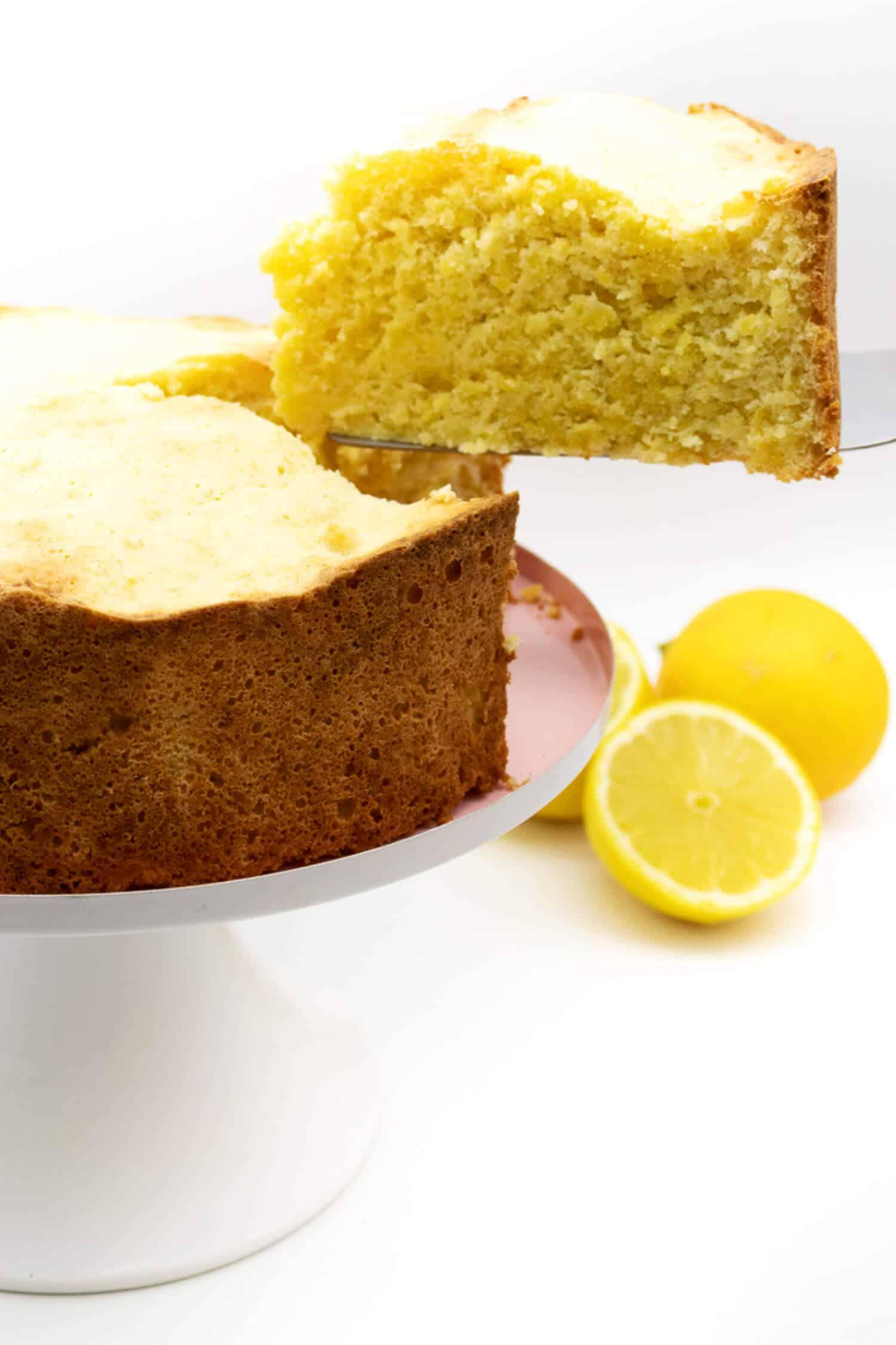 Low Carb Wolke Kuchen Zitrone Rezept