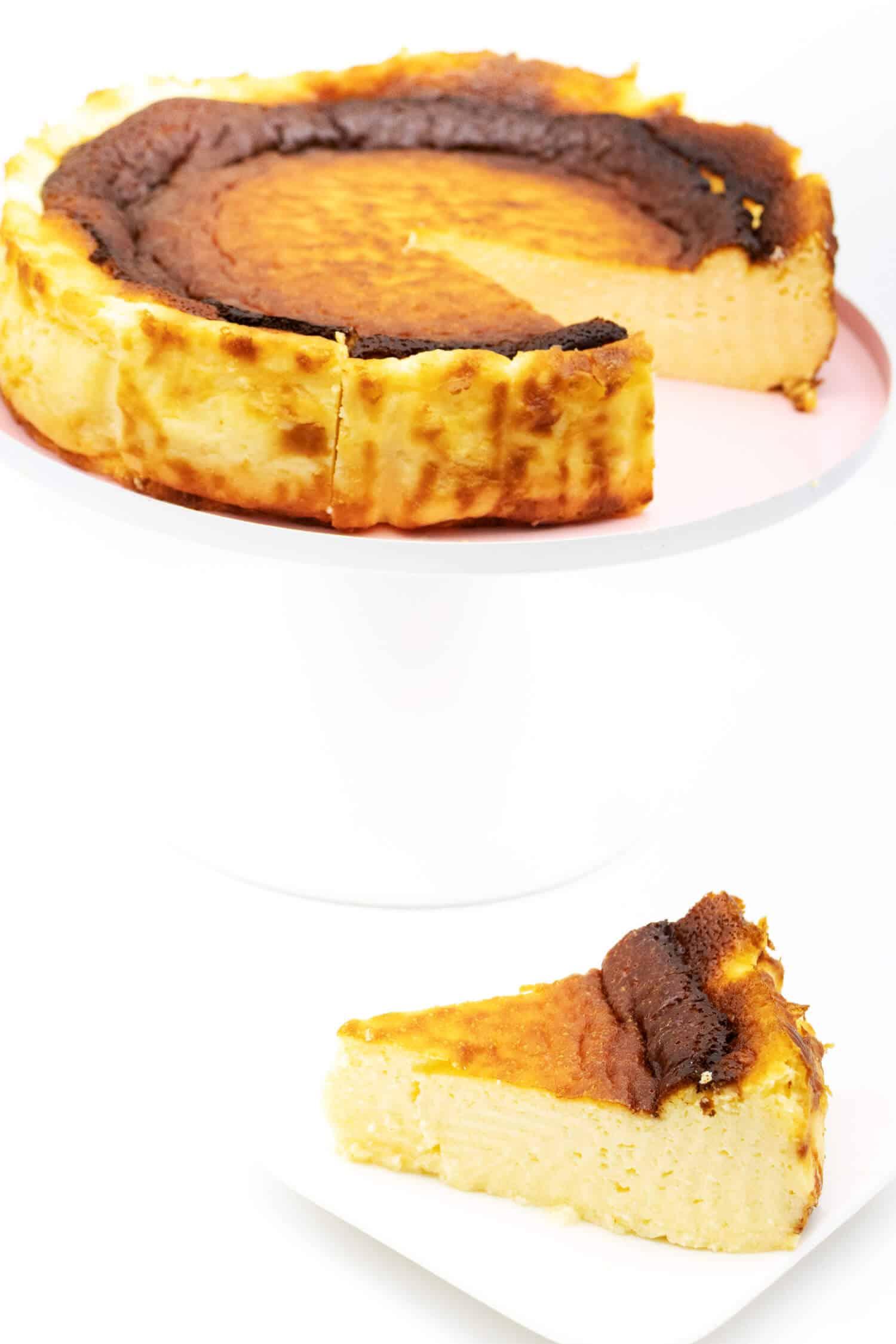 Käsekuchen Baskisch Rezept