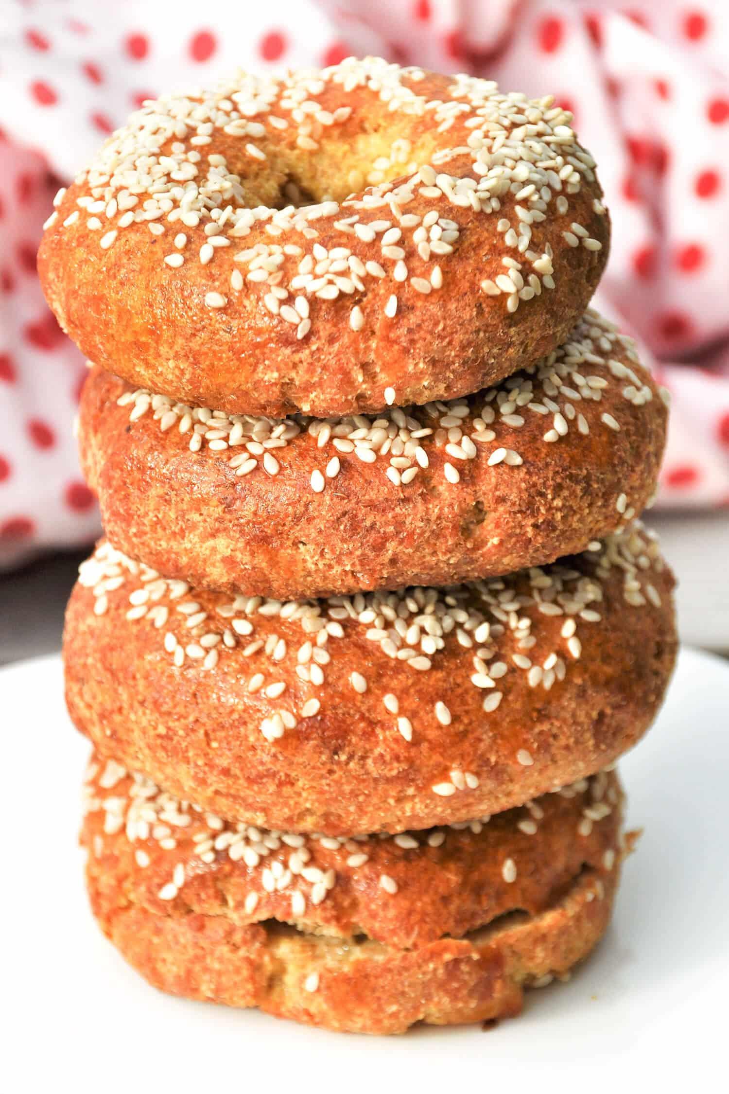 Low Carb Bagel Rezept ohne Kohlenhydrate