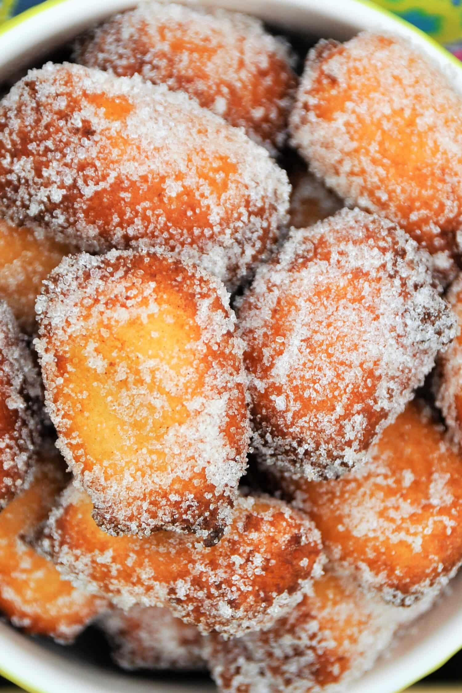 Low Carb Quarkbällchen selber machen ohne Zucker Rezept