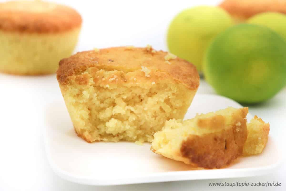 Muffins ohne Zucker und Mehl backen