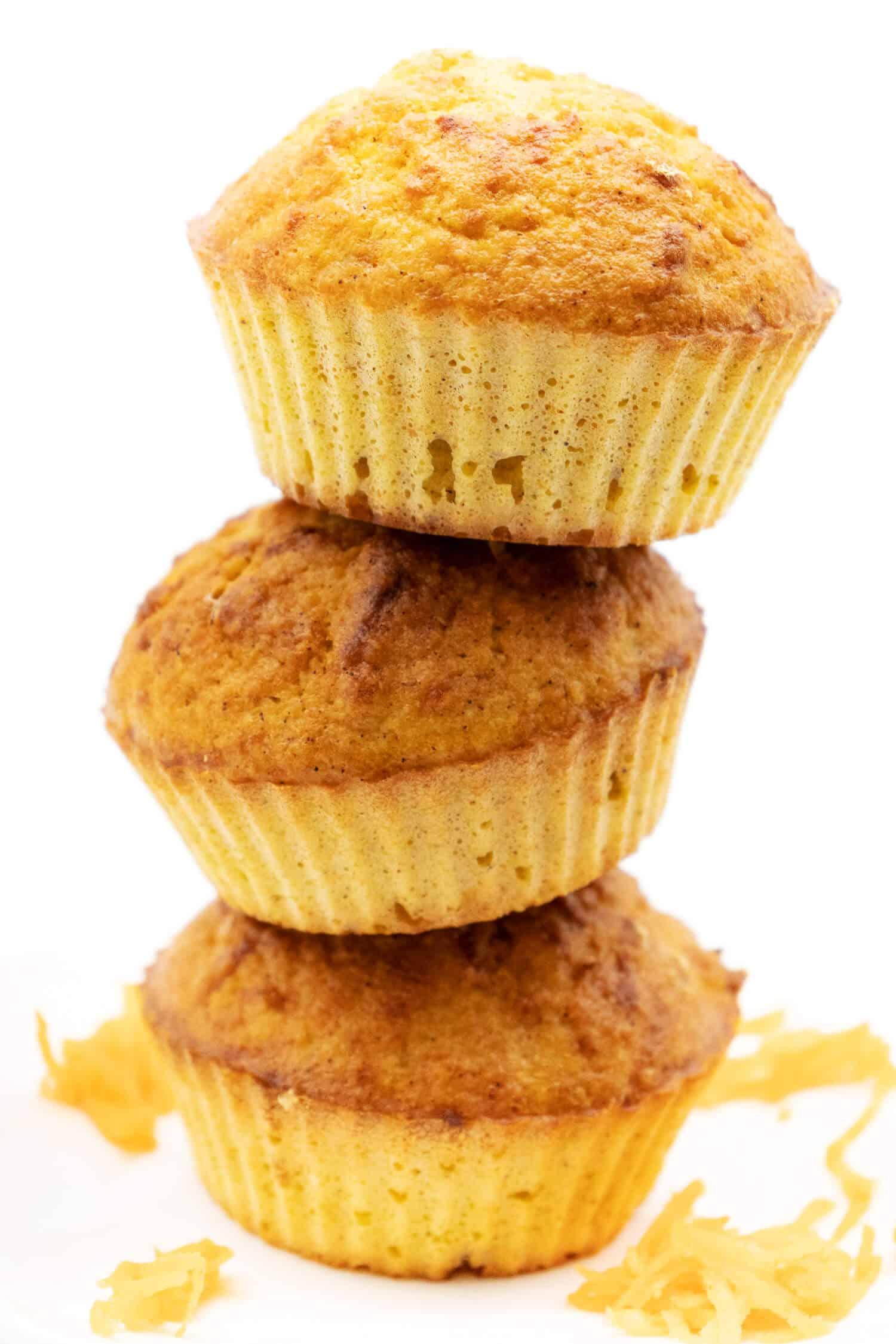Zuckerfreie Karotten Muffins saftig