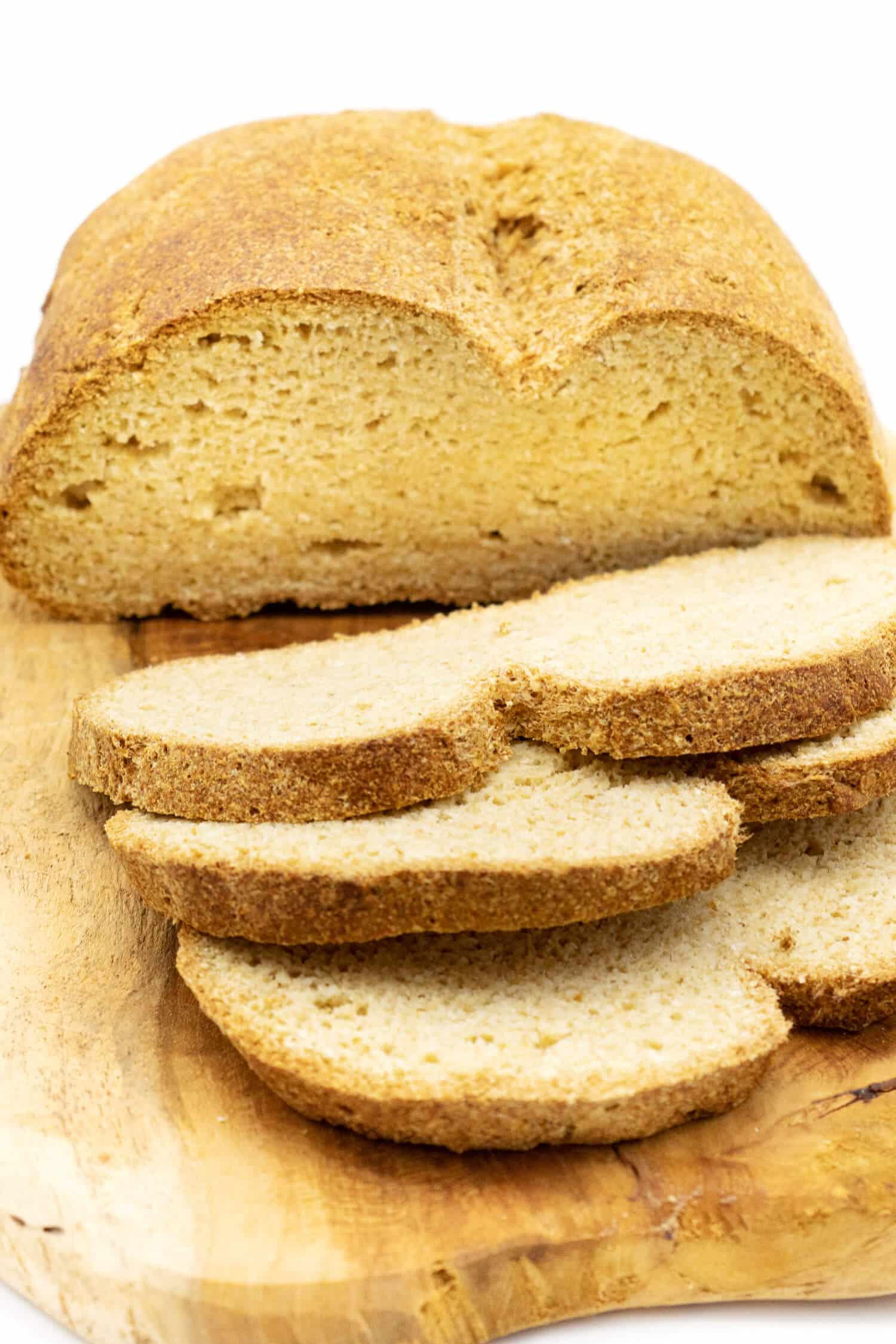 Keto Brot Rezept vegan und glutenfrei