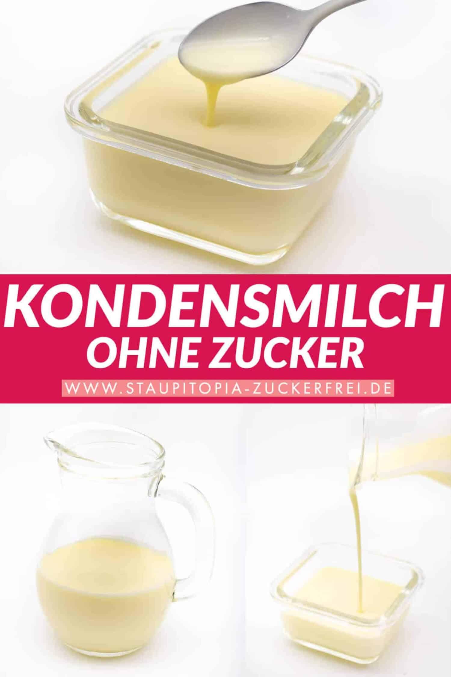 Kondensmilch Low Carb Rezept