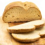 Low Carb Brot Grundrezept vegan