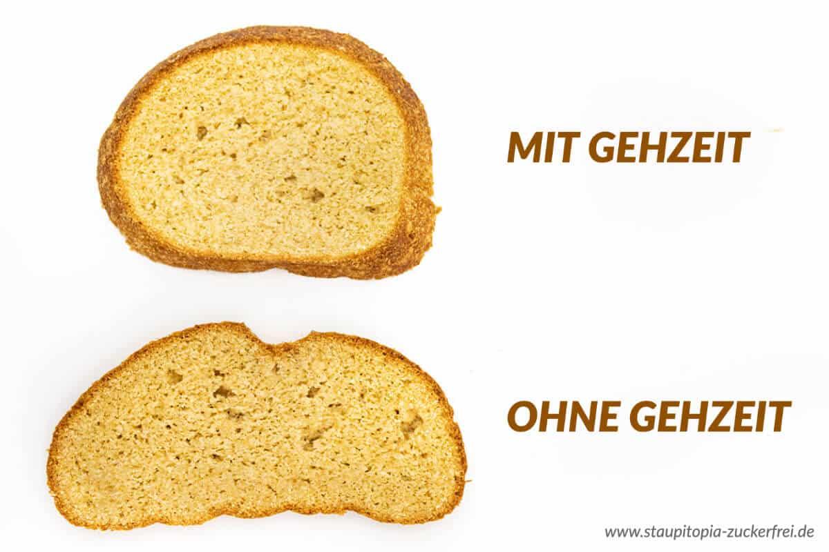 Low Carb Brot mit Hefe mit und ohne Gehzeit