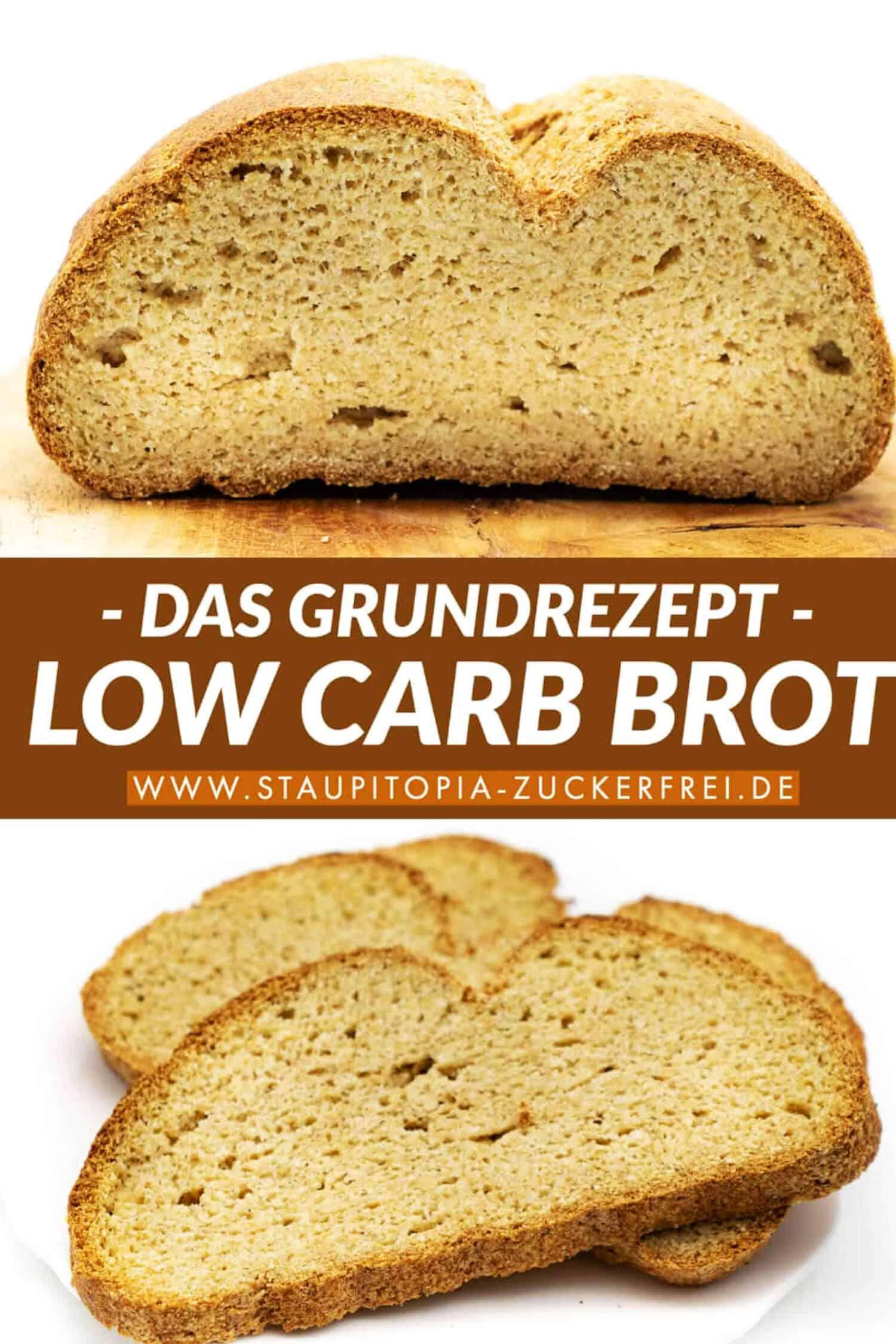Low Carb Brot ohne Ei Rezept