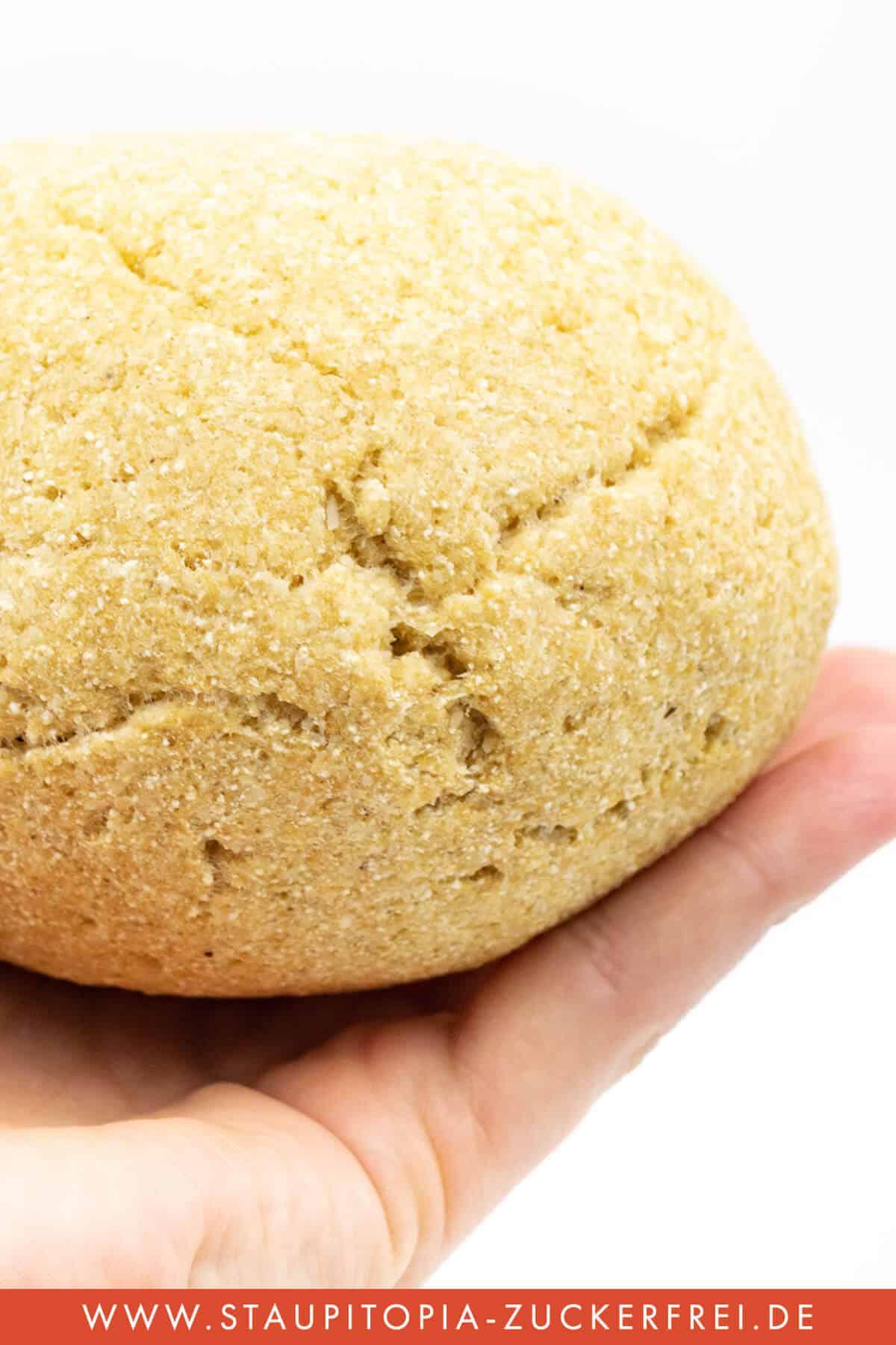 Glutenfreier Low carb Hefeteig ohne Ei