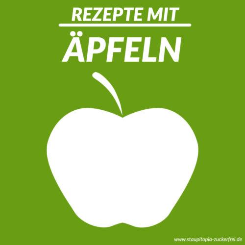 Low Carb Rezepte mit Äpfeln