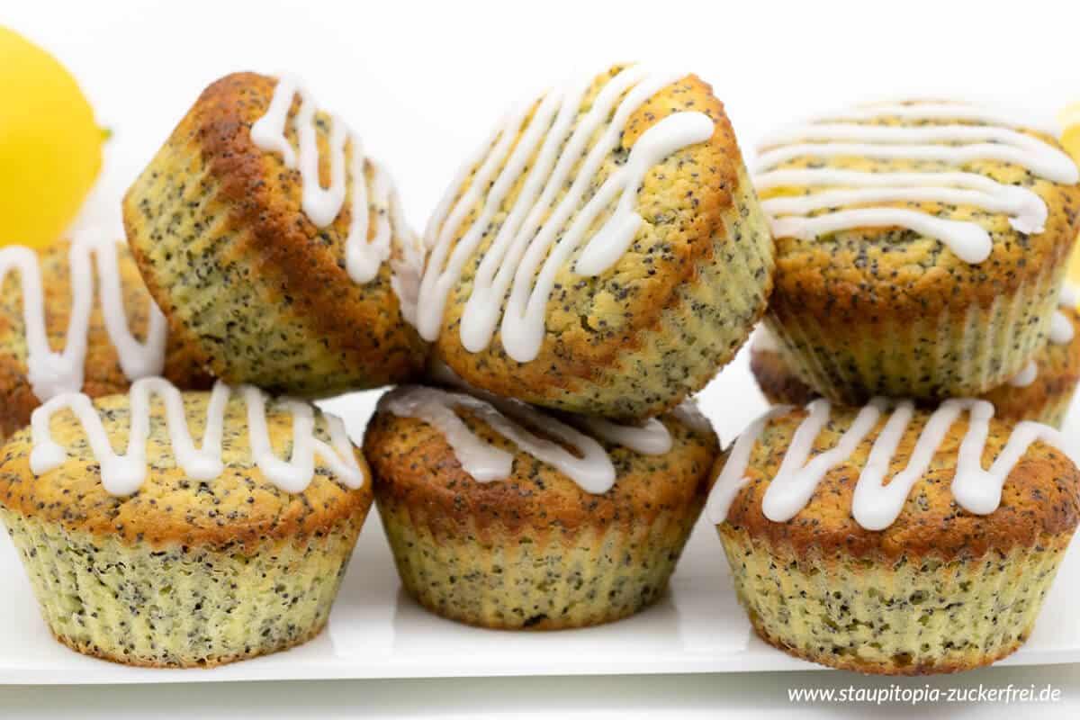 Rezept für saftige Mohn Muffins