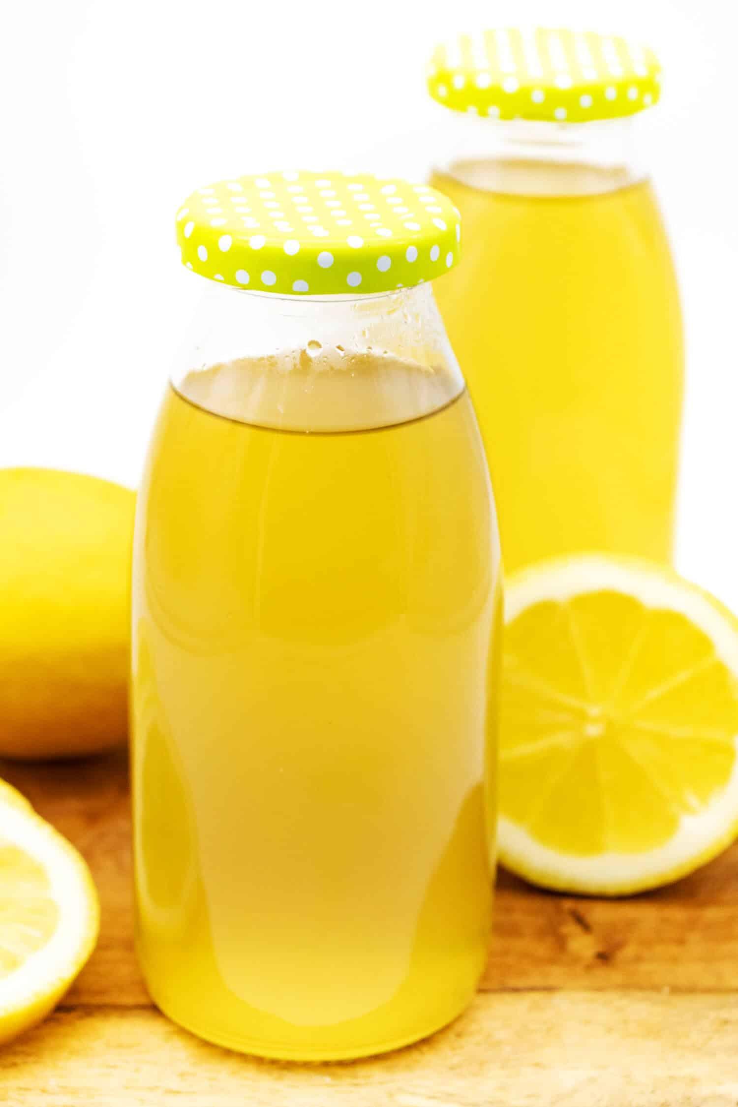 Zitronensirup Rezept ohne Zucker