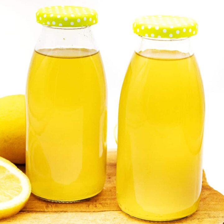 Low Carb Zitronensirup selber machen ohne Zucker