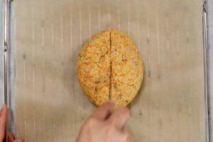 Zubereitung Low Carb Karotten Walnuss Brot Schritt 4