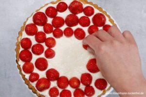 Zubereitung Erdbeerkuchen ohne Zucker Schritt 4