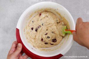 Zubereitung Kirschkuchen ohne Zucker Schritt 5