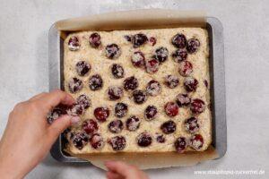 Zubereitung Kirschkuchen ohne Zucker Schritt 6