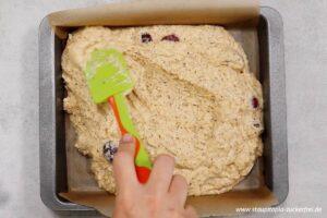 Zubereitung Kirschkuchen ohne Zucker Schritt 7