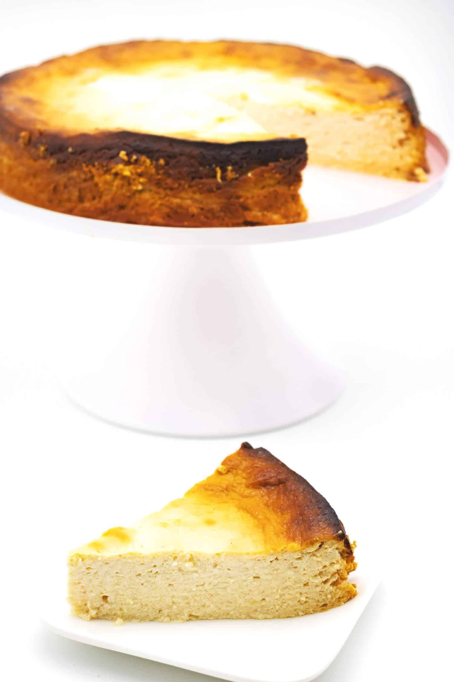 Gesunder Skyr Kuchen ohne Zucker
