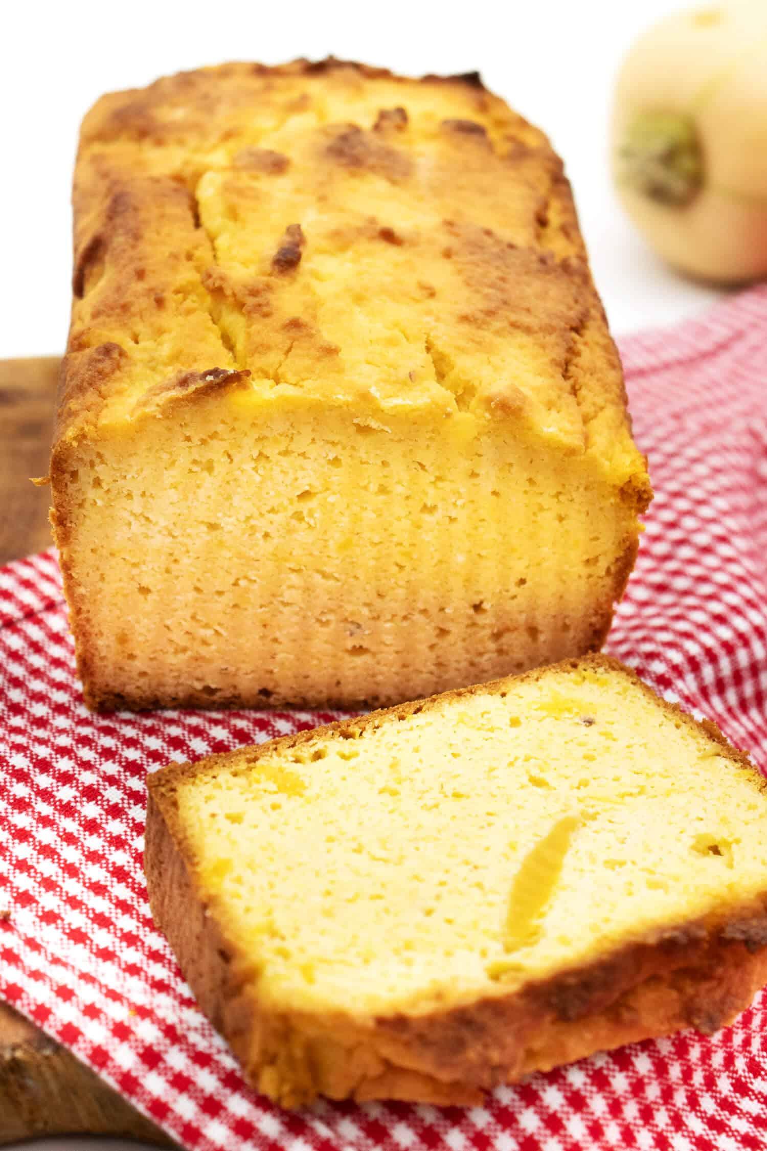 Butternut Kürbis Rezept - süßes Brot