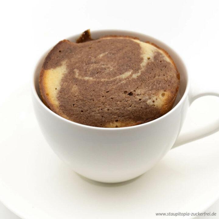 Low Carb Marmor Tassenkuchen Rezept ohne Zucker