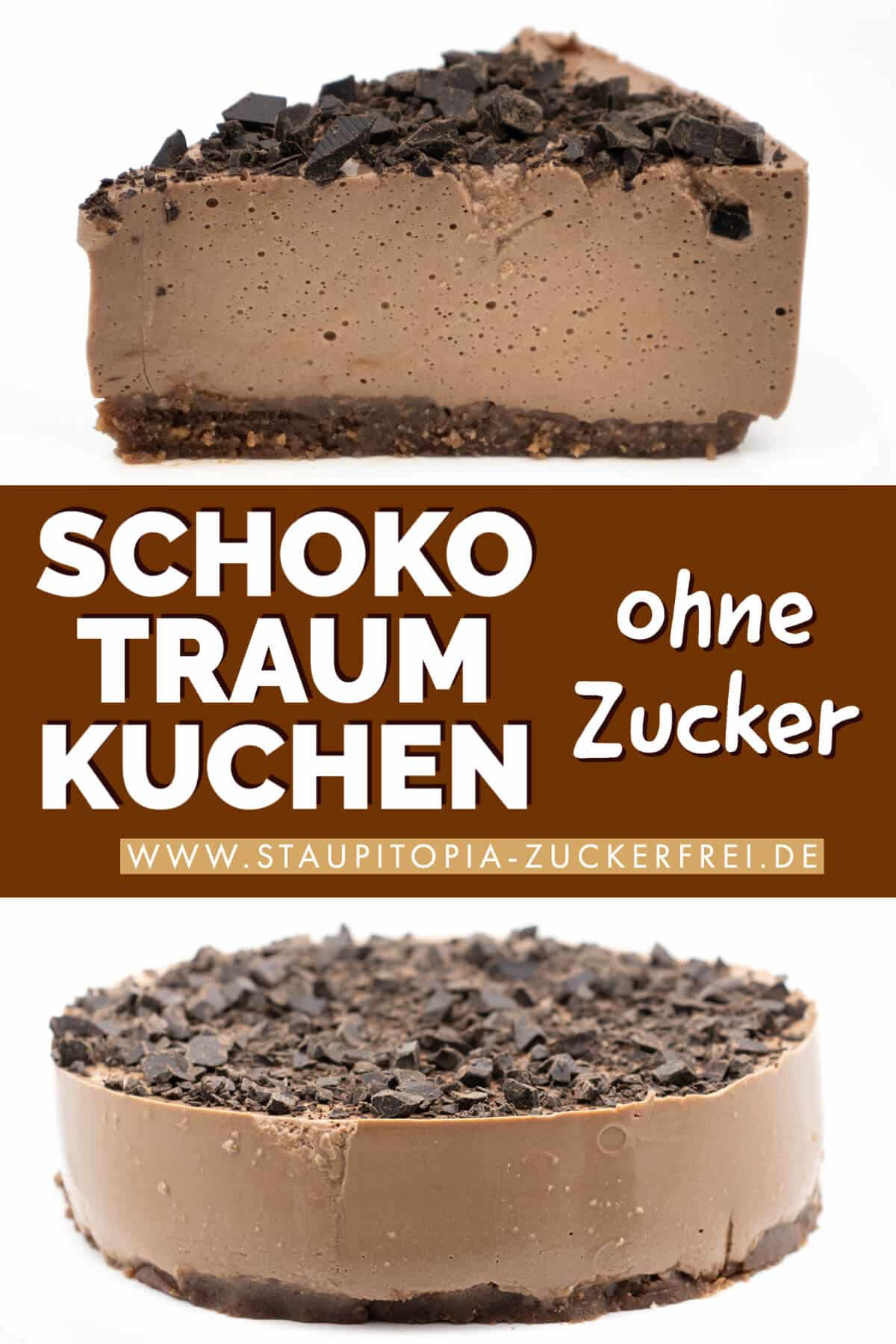 Low Carb Schoko Traum Kuchen ohne Zucker Rezept