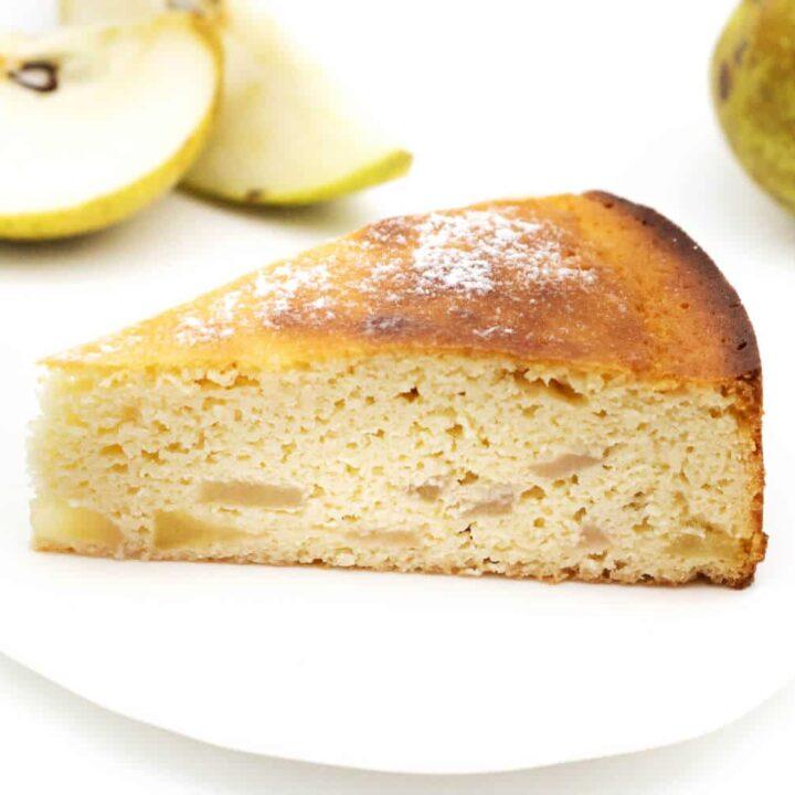 Saftiger Birnenkuchen ohne Zucker Rezept