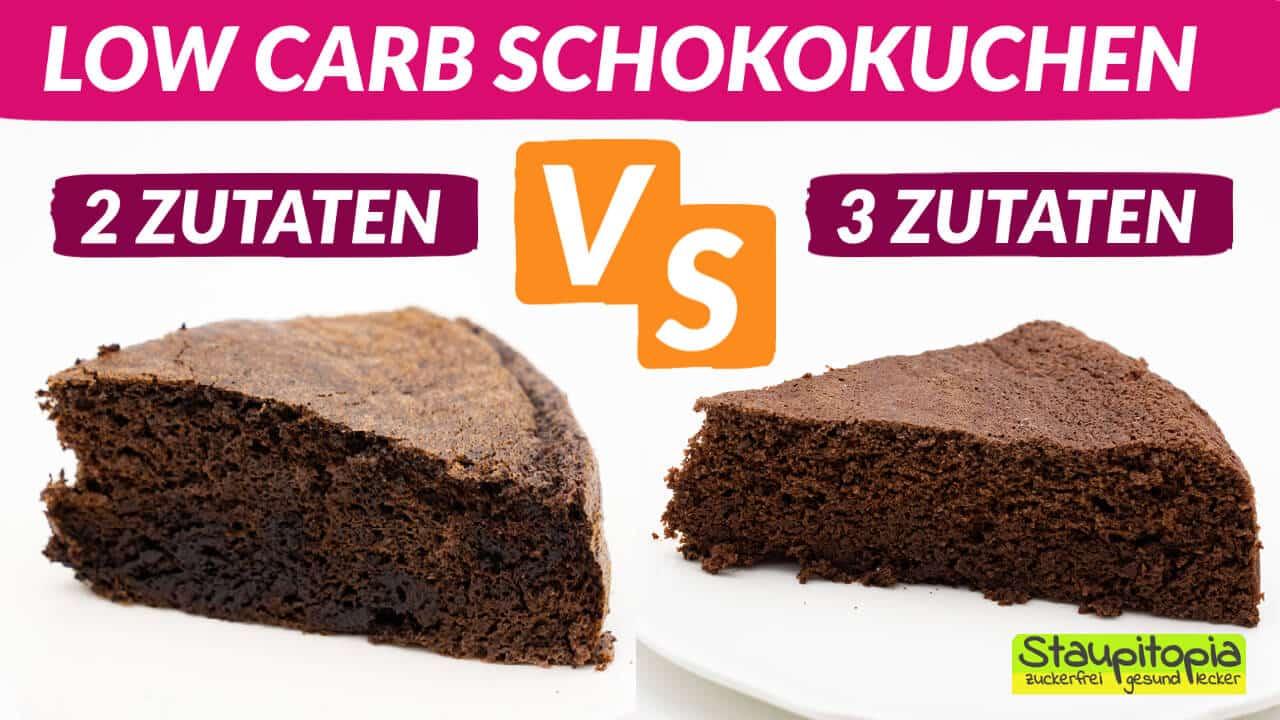 Schokokuchen mit Kakaopulver 3 Zutaten Rezept
