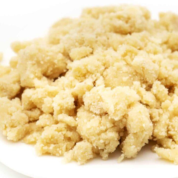 Streusel ohne Zucker Rezept