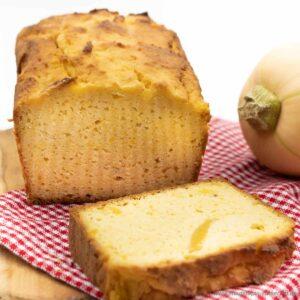Süßes Low Carb Butternut Kürbisbrot Rezept